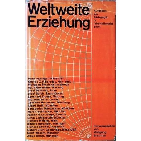 Weltweite Erziehung. Von Wolfgang Brezinka (1961).