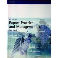 Export Practice and Management. Von Alan Branch (2000).
