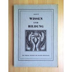 Wissen und Bildung. Band XI (1960).