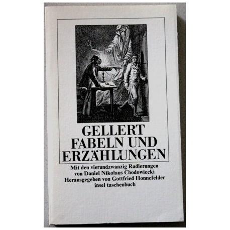 Christian Fürchtegott Gellert. Fabeln und Erzählungen. Von Gottfried Honnefelder (1986).