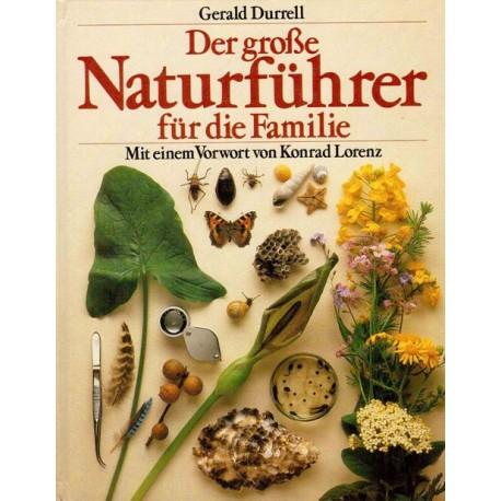 Der große Naturführer für die Familie. Von Gerald Durrell (1983).