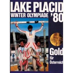 Lake Placid Winter Olympiade 80. Gold für Österreich. Von H. Heinrich (1980).