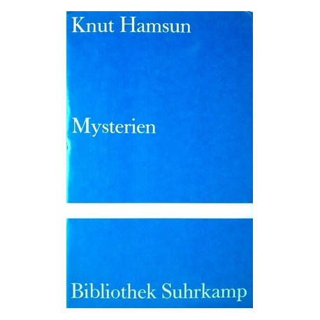 Mysterien. Von Knut Hamsun (1978).