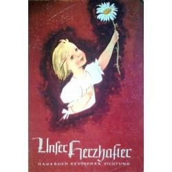 Unser Herzhafter. Hausbuch deutscher Dichtung. Von Heinz Steguweit (1960).