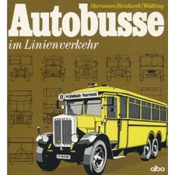 Autobusse im Linienverkehr. Von Hellmut Hartmann (1978).