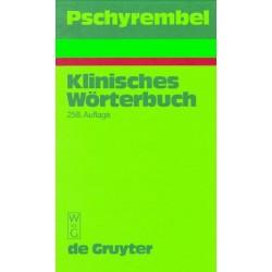 Pschyrembel. Klinisches Wörterbuch. Von Helmut Hildebrandt (1998).