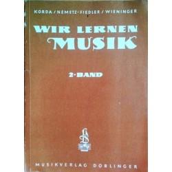 Wir lernen Musik. 2. Band. Von Viktor Korda (1973).