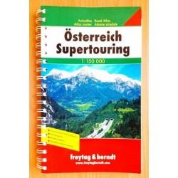 Österreich Supertouring Autoatlas. Von: Freytag & Berndt (2007).