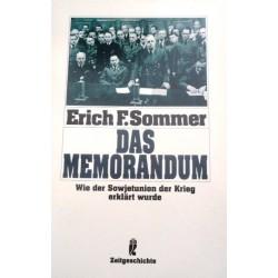 Das Memorandum. Von Erich F. Sommer (1991).