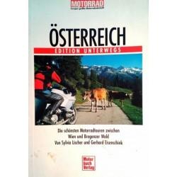 Österreich. Die schönsten Motorradtouren zwischen Wien und Bregenzer Wald. Von Sylvia Lischer (2002).