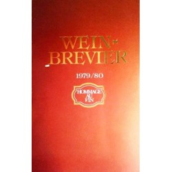 Wein-Brevier 1979/80. Von Sankt Urban Kellerei Gottardi.