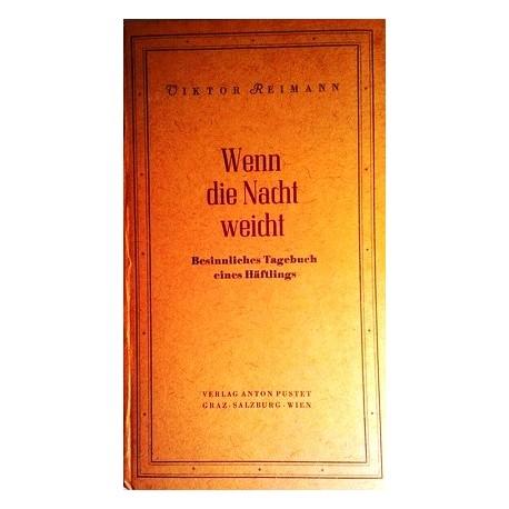 Wenn die Nacht weicht. Von Viktor Reimann (1946).