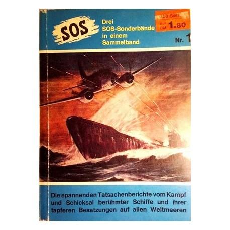SOS. Drei SOS-Sonderbände in einem Sammelband (1958).