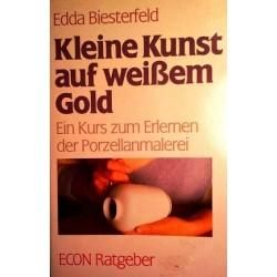 Kleine Kunst auf weißem Gold. Von Edda Biesterfeld (1984).
