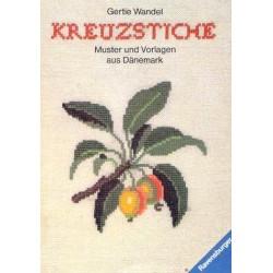 Kreuzstiche. Muster und Vorlagen aus Dänemark. Von Gertie Wandel (1988).
