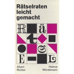 Rätselraten leicht gemacht. Von Albert Richter (1970).