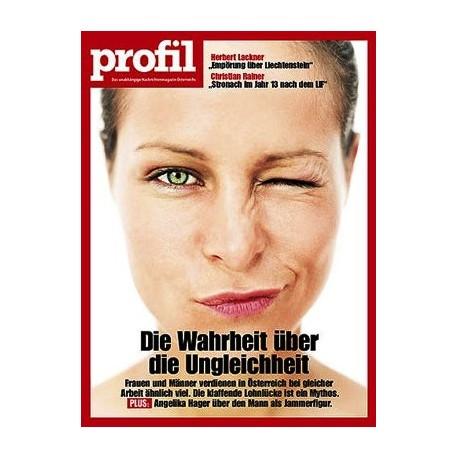 profil, das unabhängige Nachrichtenmagazin Österreichs (26 Stück).