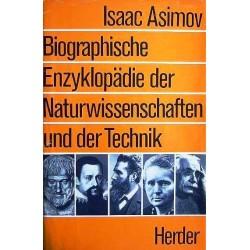 Biographische Enzyklopädie der Naturwissenschaften und Technik. Von Isaac Asimov (1973).
