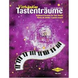 Vierhändige Tastenträume. Musiknoten für Klavier. Von Anne Terzibaschitsch (1997).