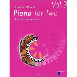 Piano for Two. Vol 3. Von Daniel Hellbach (2006).
