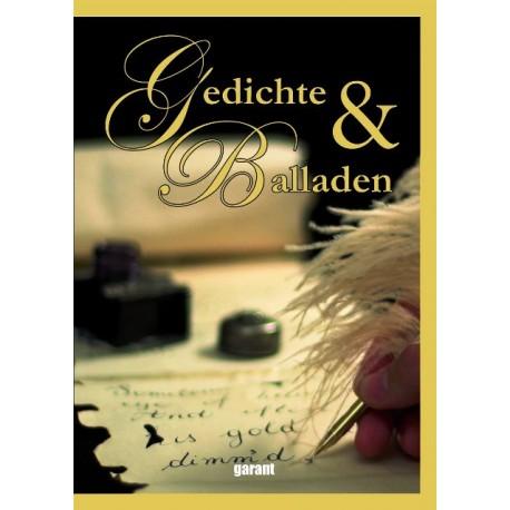 Gedichte Und Balladen Von Garant Verlag 2012 Buchbazarat