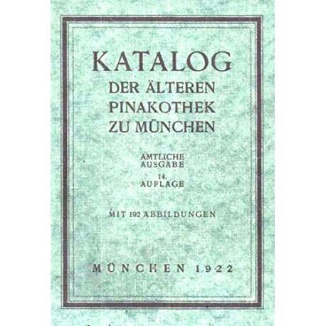 Katalog der älteren Pinakothek zu München (1922).