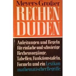 Meyers Großer Rechenduden. Von: Bibliographisches Institut Mannheim (1961).
