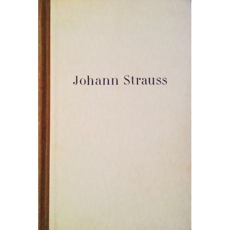 Johann Strauss. Von Werner Jaspert (1955).