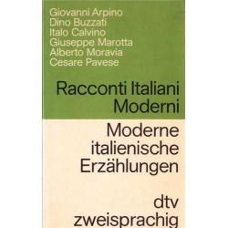 Racconti italiani moderni. Moderne italienische Erzählungen. Von Giovanni Arpinio (1978).