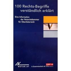 100 Rechts-Begriffe verständlich erklärt. Von: Notariatskammer Oberösterreich (2011).