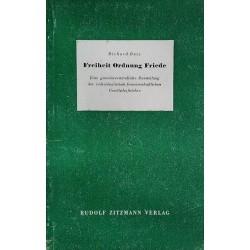 Freiheit, Ordnung, Friede. Von Richard Batz (1948).