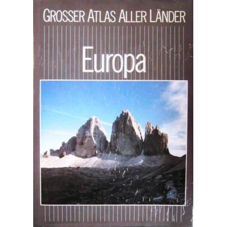 Grosser Atlas aller Länder. Europa (1989).