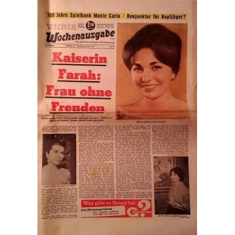 Wiener Wochenausgabe vom 24. April 1966.