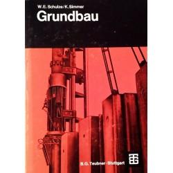 Grundbau. Von Konrad Simmer (1967).