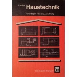 Haustechnik. Von Karl Volger (1975).