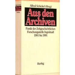Aus den Archiven. Von Aldred Schickel (1993).