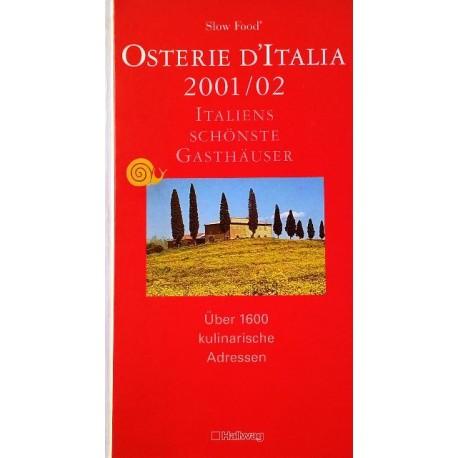 Osterie d'Italia 2001/02. Von: Hallwag Verlag (2001).