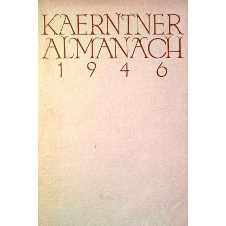 Kärntner Almanach 1946. Von Johannes Lindner.