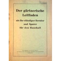Der gärtnerische Leitfaden. Von Otto Streit (1955).