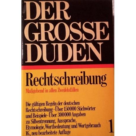 Der grosse Duden Rechtschreibung Band 1 (1967).