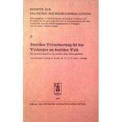 Beihefte zur Deutschen Hochschullehrer-Zeitung Nr. 6. Von Herbert Grabert (1966).