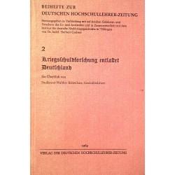 Beihefte zur Deutschen Hochschullehrer-Zeitung Nr. 2. Von Walther Reitenhart (1964).