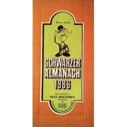 Schwarzer Almanach 1986. Von Werner Mitsch (1985).