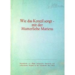 Wie das Konzil sorgt. Von: Herz-Mariä-Werk (1968).
