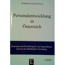 Personalentwicklung in Österreich. Von Norbert Kailer (1995).