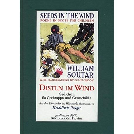 Distln im Wind. Von Heidelinde Prüger (1998).