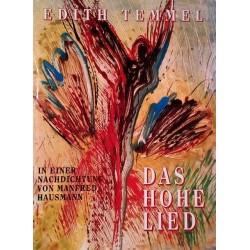 Das Hohe Lied. Von Edith Temmel (1998). Handsigniert!