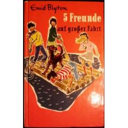 5 Freunde auf großer Fahrt. Von Enid Blyton (1975).