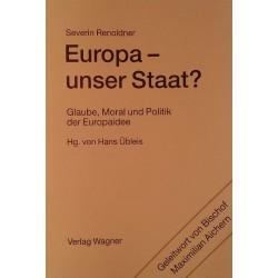 Europa, unser Staat? Von Severin Renoldner (2001).