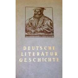 Deutsche Literaturgeschichte. Von Leo Krell und Leonhard Fiedler (1962).